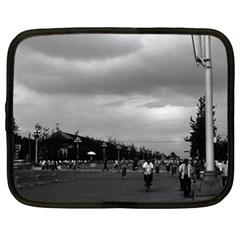 Vintage China Pekin Street Tiananmen Square 1970 13  Netbook Case