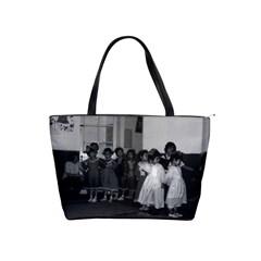 Vintage China Shanghai child care 1970 Large Shoulder Bag
