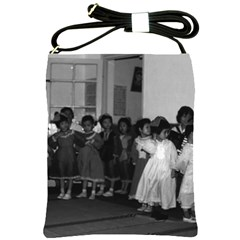 Vintage China Shanghai child care 1970 Cross Shoulder Sling Bag