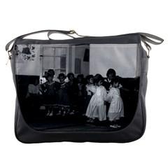 Vintage China Shanghai Child Care 1970 Messenger Bag