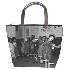 Vintage China Shanghai child care 1970 Bucket Handbag