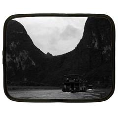 Vintage China Guilin river boat 1970 15  Netbook Case