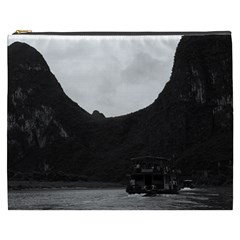 Vintage China Guilin river boat 1970 Cosmetic Bag (XXXL)