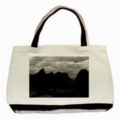 Vintage China Guilin river boat 1970 Black Tote Bag