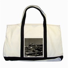 Vintage Germany Berlin The Tegel Airport 1970 Two Toned Tote Bag