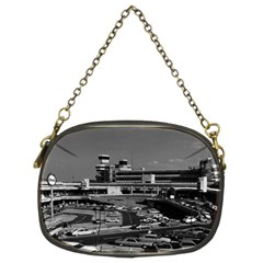 Vintage Germany Berlin The Tegel Airport 1970 Twin Sided Evening Purse