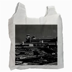 Vintage Germany Berlin The Tegel Airport 1970 Twin-sided Reusable Shopping Bag