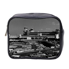 Vintage Germany Berlin The Tegel Airport 1970 Twin Sided Cosmetic Case