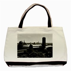 Vintage Germany Munich Deutsch Museum 1970 Black Tote Bag