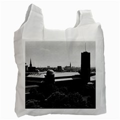 Vintage Germany Munich Deutsch Museum 1970 Single-sided Reusable Shopping Bag