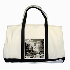 Vintage Germany Munich Towngate Karistor 1970 Two Toned Tote Bag