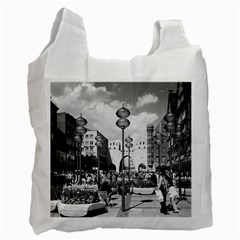 Vintage Germany Munich Towngate Karistor 1970 Twin-sided Reusable Shopping Bag