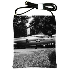 Vintage Germany Munich Deutsch Museum starfighter 1970 Cross Shoulder Sling Bag