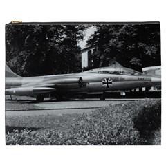 Vintage Germany Munich Deutsch Museum starfighter 1970 Cosmetic Bag (XXXL)