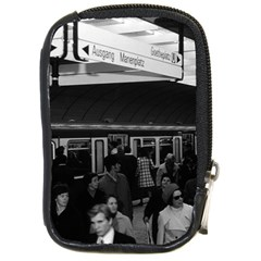 Vintage Germany Munich Underground Station Marienplatz Digital Camera Case
