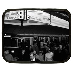 Vintage Germany Munich Underground Station Marienplatz 15  Netbook Case
