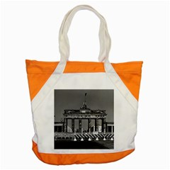 Vintage Germany Berlin Brandenburg Gate 1970 Snap Tote Bag