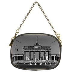 Vintage Germany Berlin Brandenburg Gate 1970 Single-sided Evening Purse