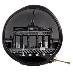 Vintage Germany Berlin Brandenburg Gate 1970 Mini Makeup Case