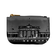 Vintage Germany Berlin Brandenburg Gate 1970 Coin Change Purse
