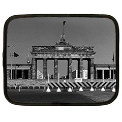 Vintage Germany Berlin Brandenburg Gate 1970 15  Netbook Case