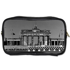 Vintage Germany Berlin Brandenburg Gate 1970 Twin-sided Personal Care Bag