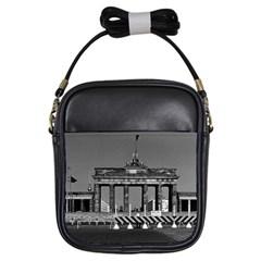 Vintage Germany Berlin Brandenburg Gate 1970 Kids  Sling Bag