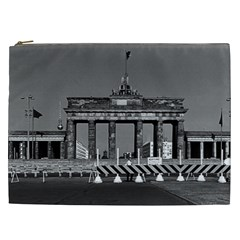 Vintage Germany Berlin Brandenburg Gate 1970 Cosmetic Bag (XXL)