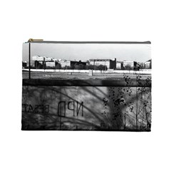 Vintage Germany Berlin wall 1970 Large Makeup Purse