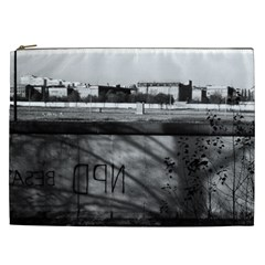 Vintage Germany Berlin wall 1970 Cosmetic Bag (XXL)
