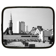 Vintage Germany Frankfurt Old Saint Nicholas Church 12  Netbook Case