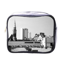 Vintage Germany Frankfurt Old Saint Nicholas Church Single-sided Cosmetic Case