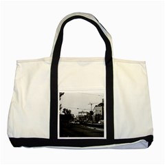 Vintage Germany Frankfurt opera 1970 Two Toned Tote Bag