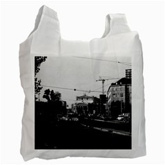 Vintage Germany Frankfurt opera 1970 Single-sided Reusable Shopping Bag
