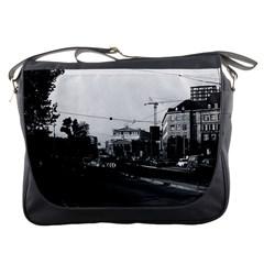 Vintage Germany Frankfurt opera 1970 Messenger Bag