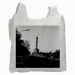 Vintage Germany Berlin 17th June Street Victory statue Single-sided Reusable Shopping Bag