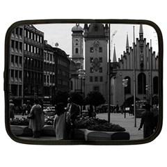 Vintage Germany Munich Church Marienplatz 1970 12  Netbook Case