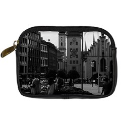 Vintage Germany Munich Church Marienplatz 1970 Compact Camera Case