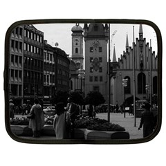 Vintage Germany Munich Church Marienplatz 1970 15  Netbook Case