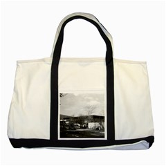 Vintage Germany Berlin New National Gallery 1970 Two Toned Tote Bag