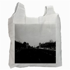 Vintage Germany Berlin The 17th June Street 1970 Single-sided Reusable Shopping Bag