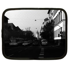 Vintage Germany Frankfurt City Street Cars 1970 12  Netbook Case