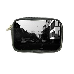 Vintage Germany Frankfurt City street cars 1970 Ultra Compact Camera Case