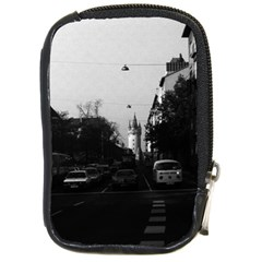 Vintage Germany Frankfurt City street cars 1970 Digital Camera Case