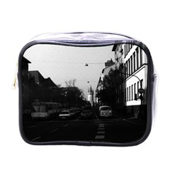 Vintage Germany Frankfurt City street cars 1970 Single-sided Cosmetic Case