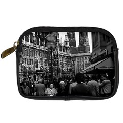 Vintage Germany Munich Frauenkirche Frauenplatz 1970 Compact Camera Case
