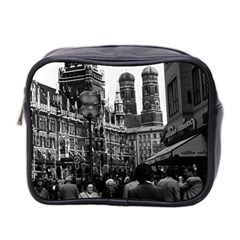 Vintage Germany Munich Frauenkirche Frauenplatz 1970 Twin-sided Cosmetic Case