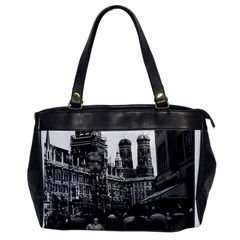 Vintage Germany Munich Frauenkirche Frauenplatz 1970 Single Sided Oversized Handbag