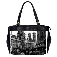 Vintage Germany Munich Frauenkirche Frauenplatz 1970 Twin Sided Oversized Handbag