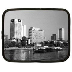 Vintage Germany Frankfurt Main river 1970 12  Netbook Case